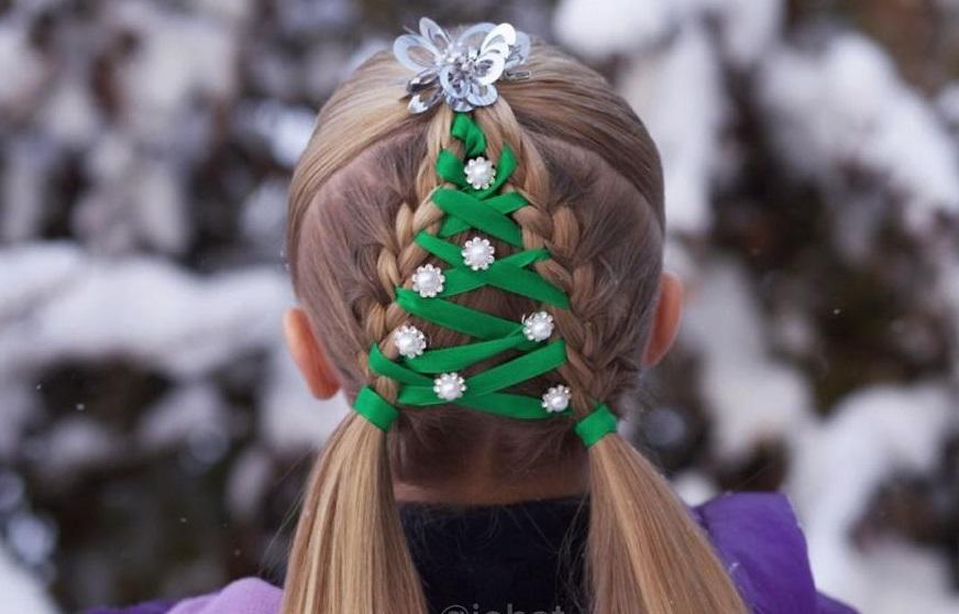 peinados navideños originales
