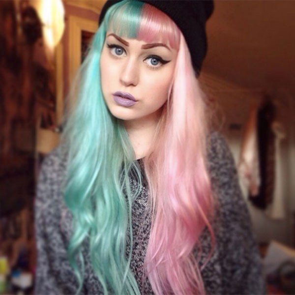 Teñirse el pelo de dos colores, ¡la tendencia de la temporada!