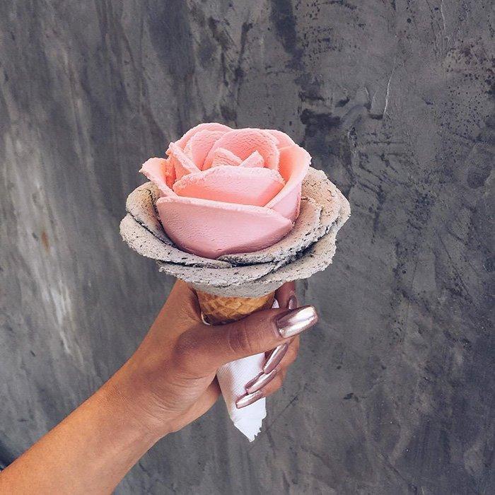 Las flores de helado: la tendencia más dulce del momento