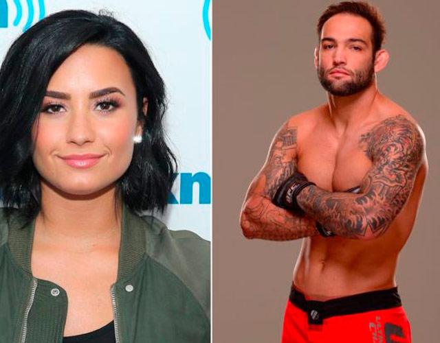 El novio de Demi Lovato, Guilherme Vasconcelos, sin camiseta