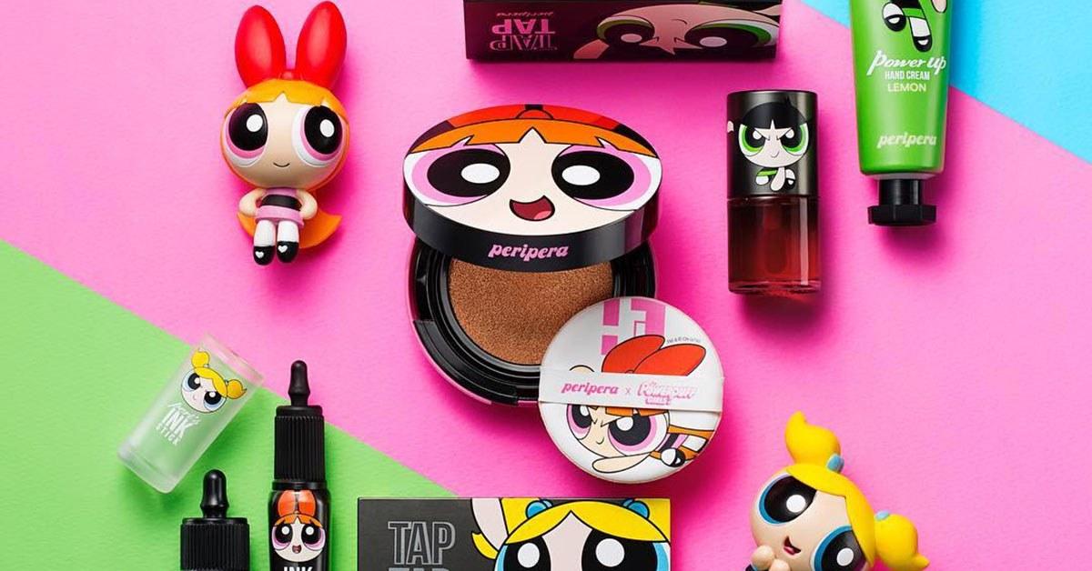 linea de maquillaje inspirada en las supernenas