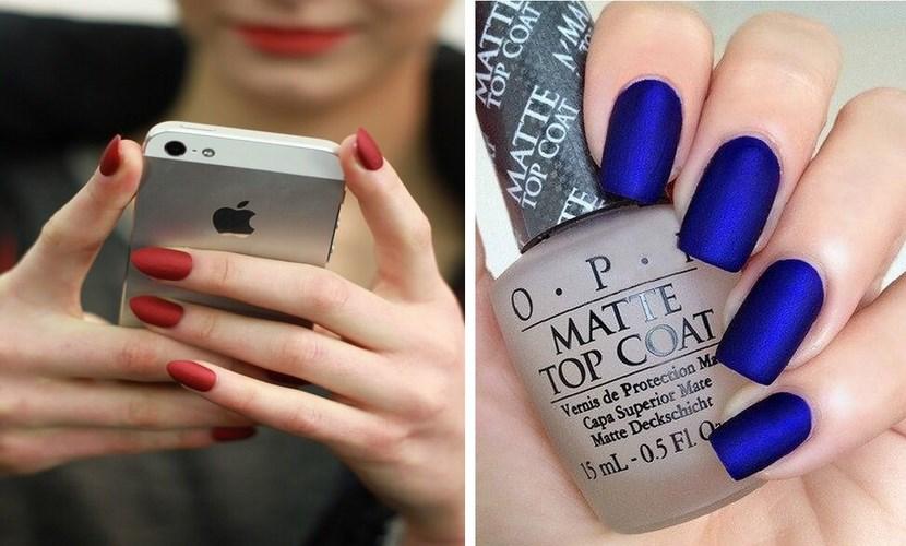 10 manicuras que te convertirán en fanática de los esmaltes mate | Red17
