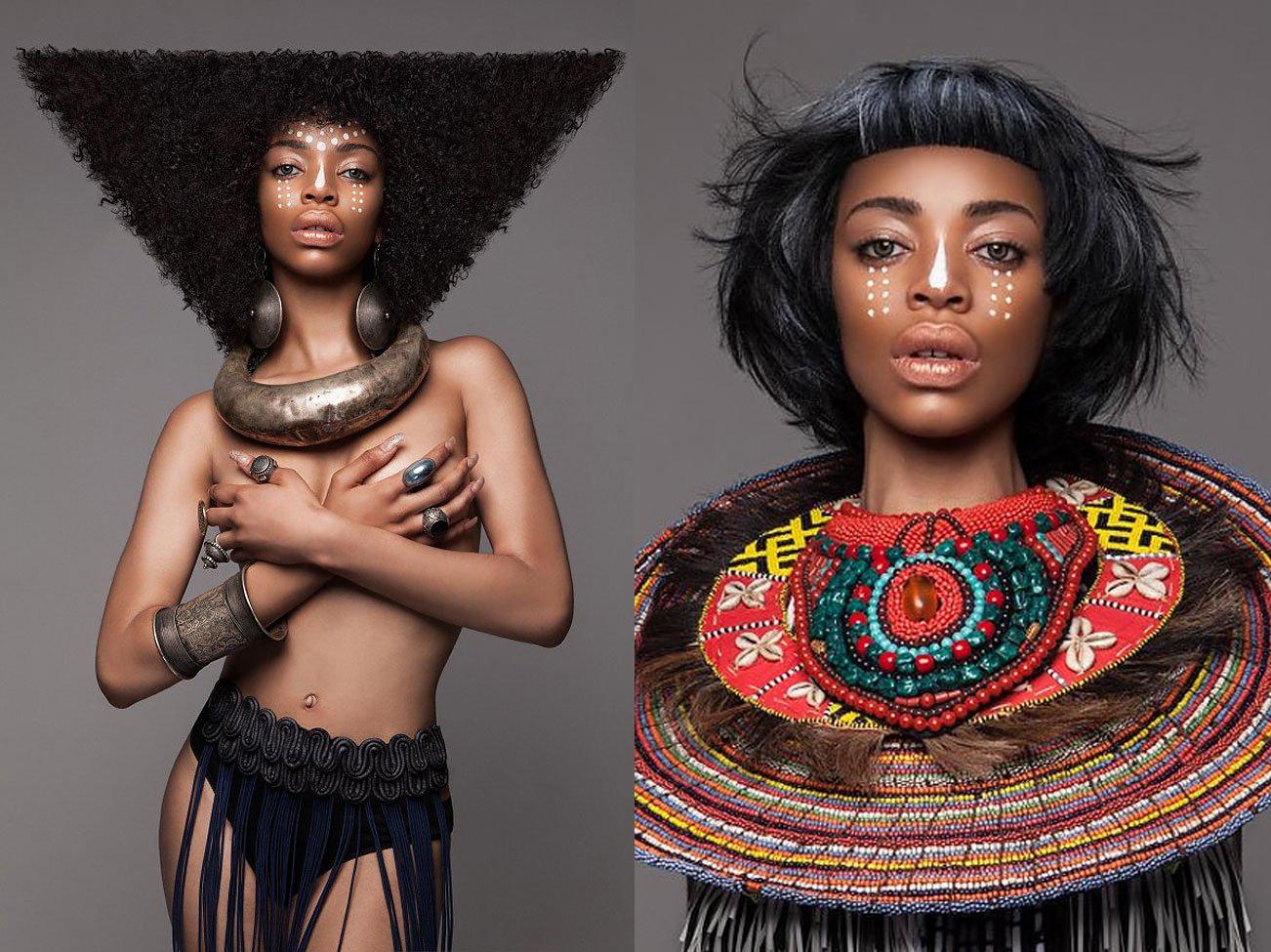 Los asombrosos peinados afro que quedaron finalistas en los British Hair Awards 2016