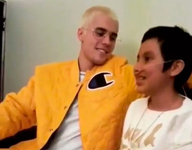 Justin Bieber visita a una fan con cáncer en México