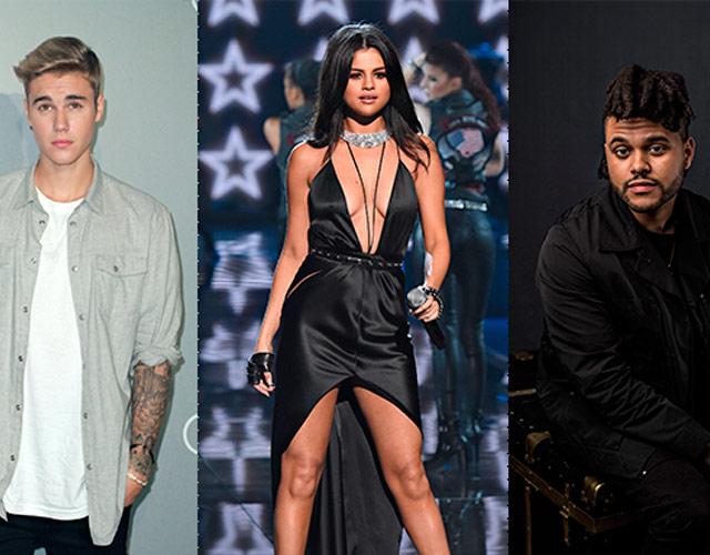 Justin Bieber, Selena Gómez y The Weeknd coinciden en la misma fiesta
