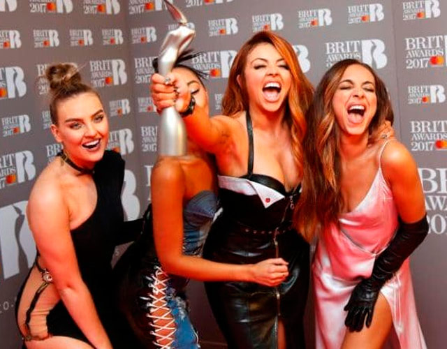 El vídeo de Little Mix borrachas en los BRITs 2017