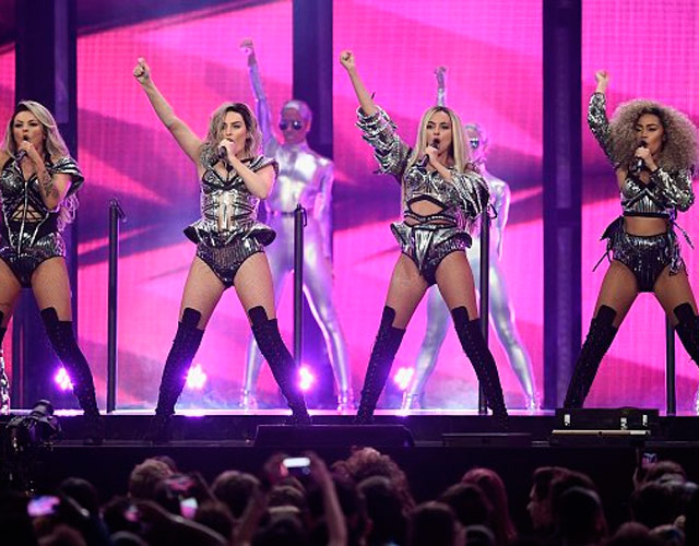 Espectacular actuación de Little Mix en los BRITs 2017