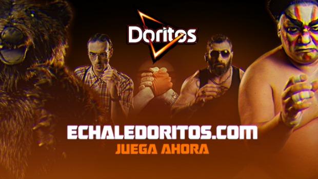 ¿Puedes ganar un pulso a un luchador, un oso o un portero de discoteca con Doritos?