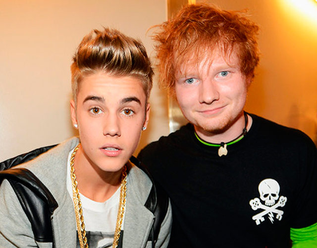 Ed Sheeran versiona 'Love Yourself' de Justin Bieber
