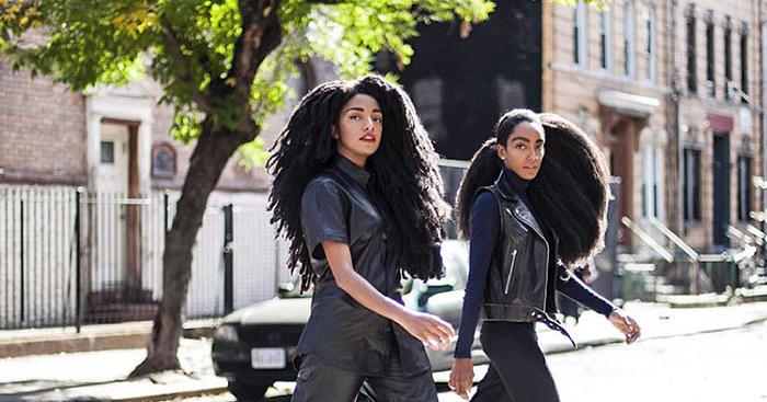 gemelas reivindican el cabello afro natural