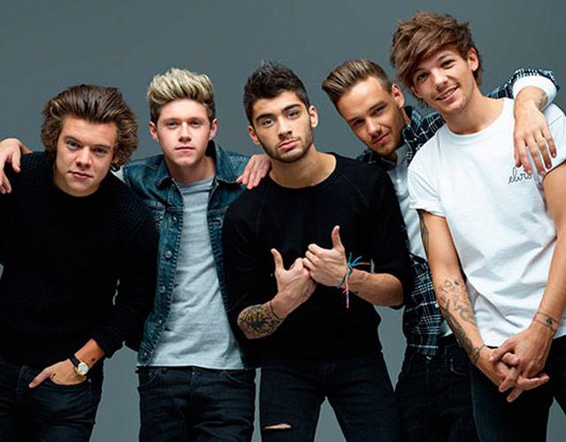 4 de los One Direction juntos en una canción