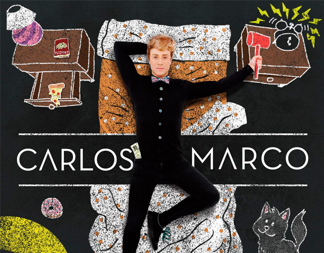 Carlos Marco estrena 'When The Mind Wanders', nuevo single de 'Chalk Dreams'