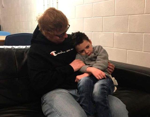 Ed Sheeran cumple el último deseo de un niño enfermo terminal de 6 años