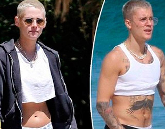 El sorprendente parecido entre Kristen Stewart y Justin Bieber
