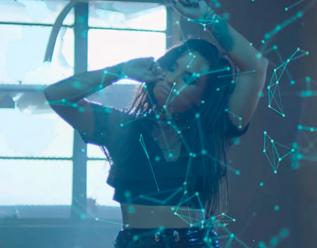 Demi Lovato, en el vídeo de 'No Promises' de Cheat Codes
