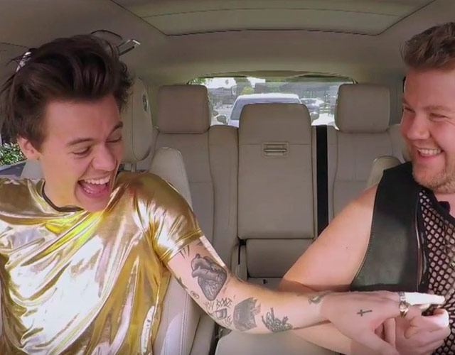 El Carpool Karaoke de Harry Styles