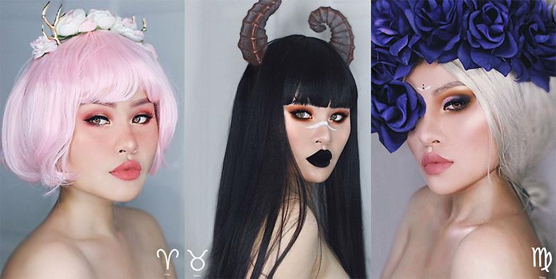 Maquillaje inspirado en tu signo del zodiaco