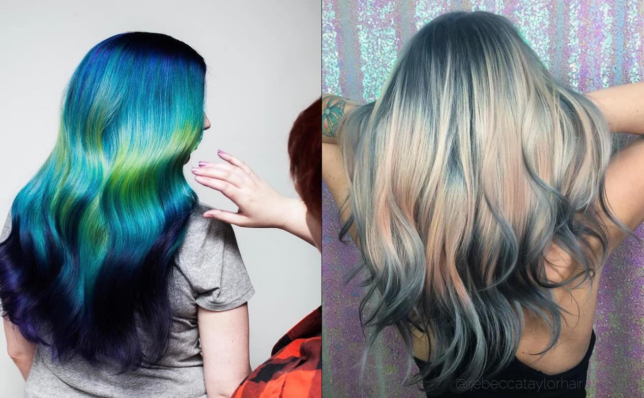Shine Line, la técnica que tiñe tu cabello de forma horizontal