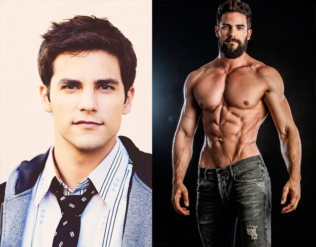 El gran cambio del actor Brant Daugherty sin camiseta