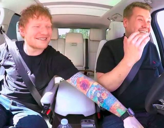 El Carpool Karaoke de Ed Sheeran