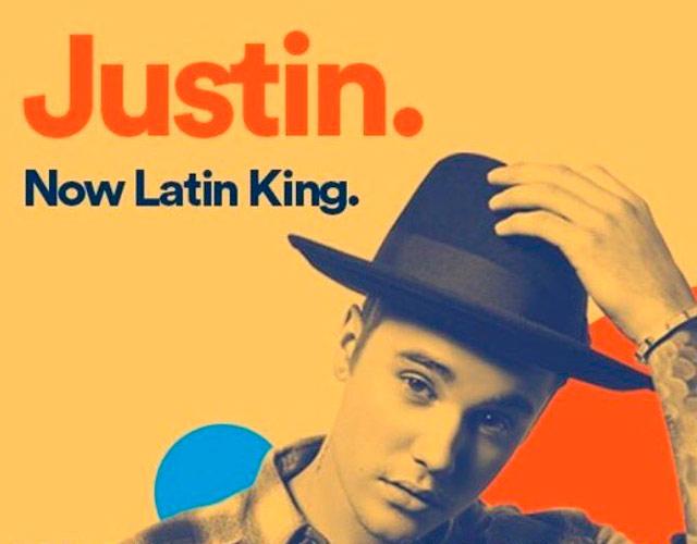 "Justin Bieber, ""latin king"" según Spotify causando polémica"