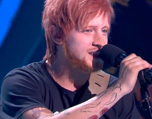 Manel Navarro imita a Ed Sheeran en 'Tu Cara No Me Suena Todavía'