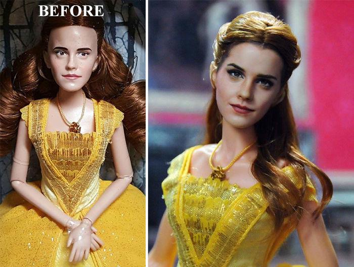 Este artista modifica muñecos para que sean más realistas