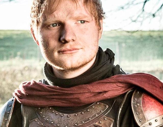 Ed Sheeran borra su Twitter tras salir en 'Juego De Tronos'