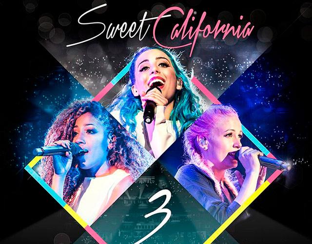 Reedición de '3' de Sweet California con DVD con su concierto en Madrid