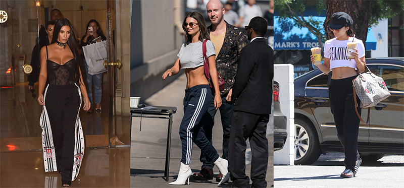 Estas celebrities demuestran que el chándal está de moda