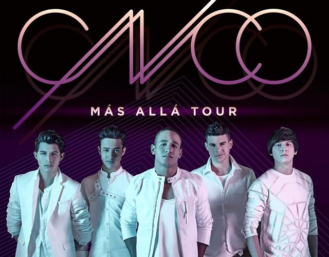 CNCO anuncian concierto en España