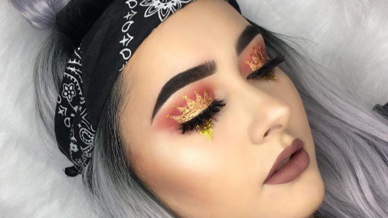 Coronas en los párpados: la tendencia de maquillaje más romántica
