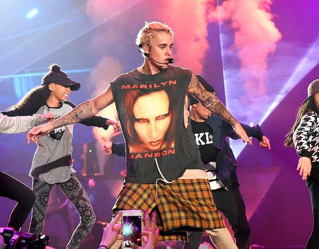 """Justin Bieber pide perdón a Marilyn Manson por """"ser un idiota"""""""