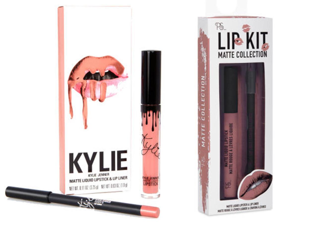 Ya puedes conseguir los labiales de Kylie Jenner en versión low cost