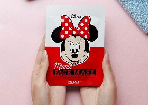 minnie mouse mascarilla