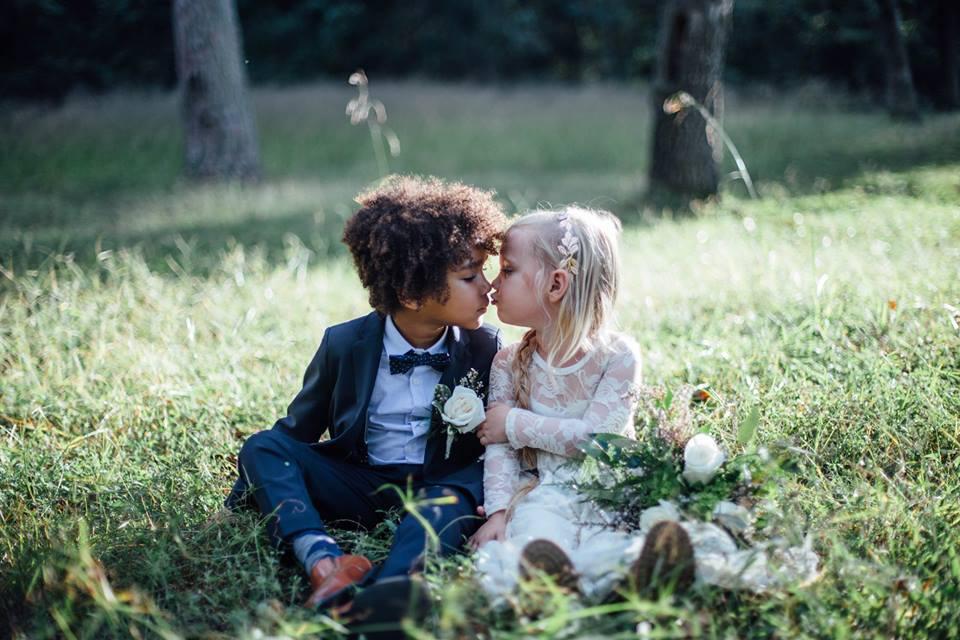 fotos de boda entre dos niños