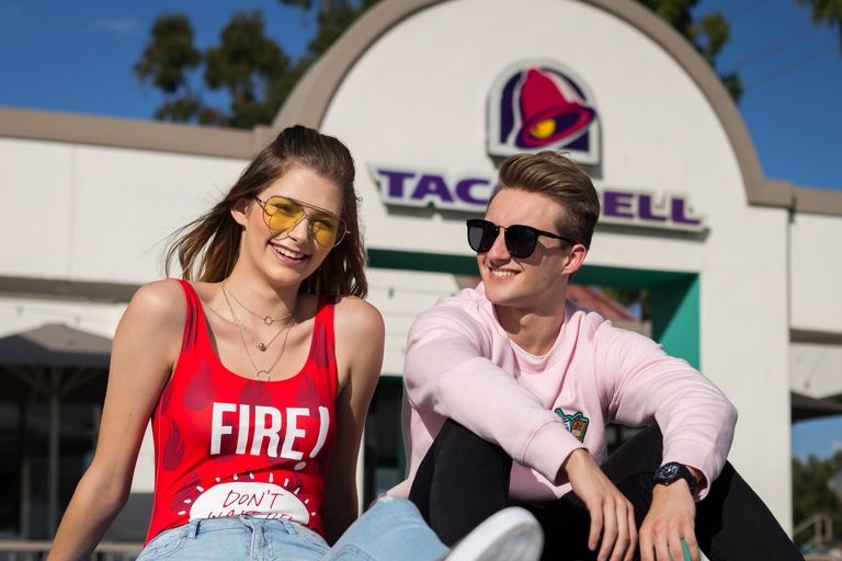 ropa taco bell  y forever 21