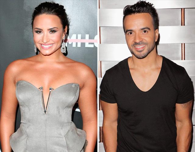Demi Lovato y Luis Fonsi, juntos en 'Échame La Culpa'