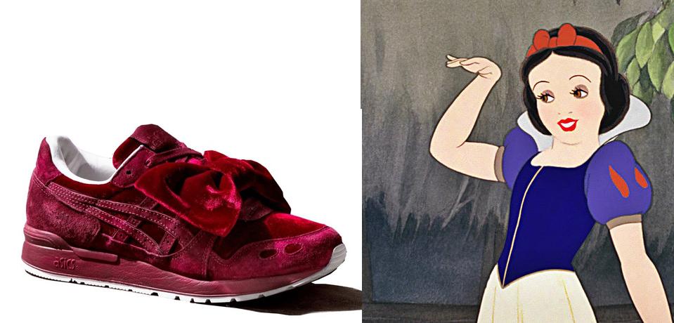 Las zapatillas de Asics de Blancanieves para correr como una princesa