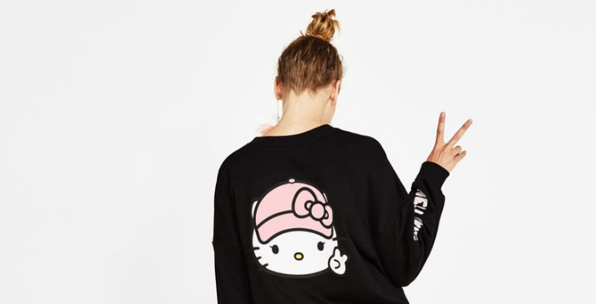 coleccion hello kitty y bershka
