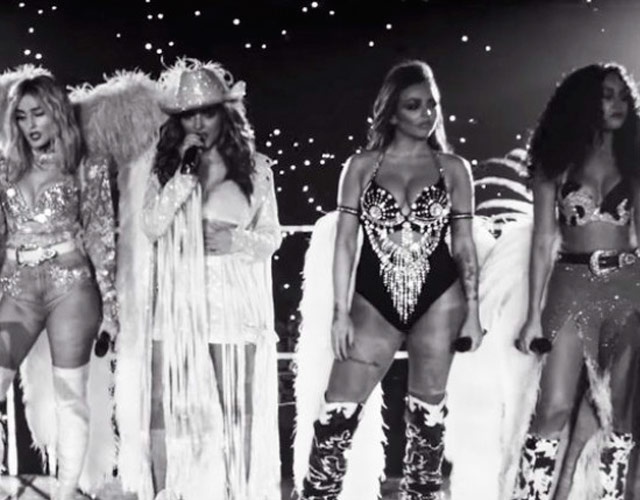 Little Mix cierran un año de triunfos con el vídeo de 'Nothing Else Matters'