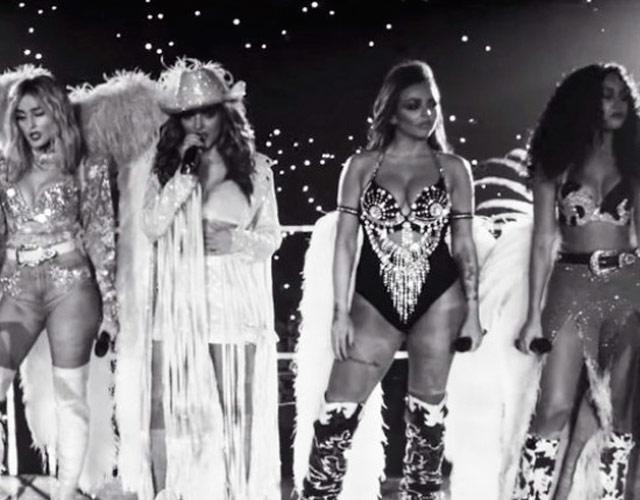 Little Mix cierran un año de triunfos con el vídeo de 'Nothing Else Matters'