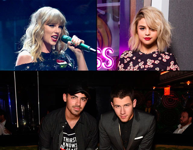 Selena Gómez recuerda a Nick Jonas su doble cita junto a Taylor Swift y Joe Jonas