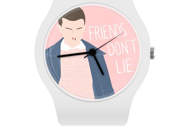 relojes de stranger things