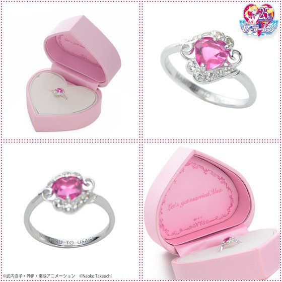 anillo de pedida de sailor moon