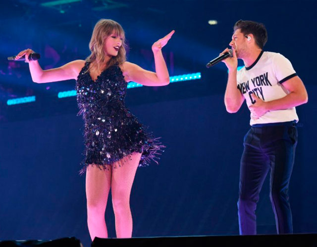 Niall Horan y Taylor Swift cantan juntos 'Slow Hands' en el 'Reputation Tour'