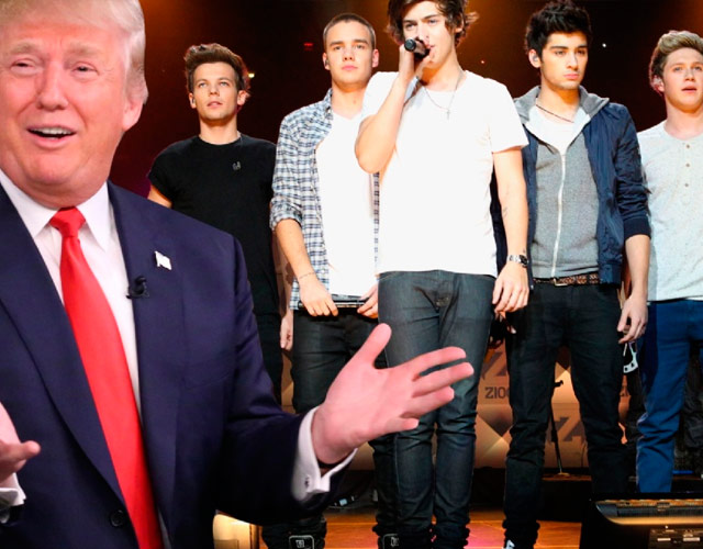 Donald Trump echó a One Direction de un hotel