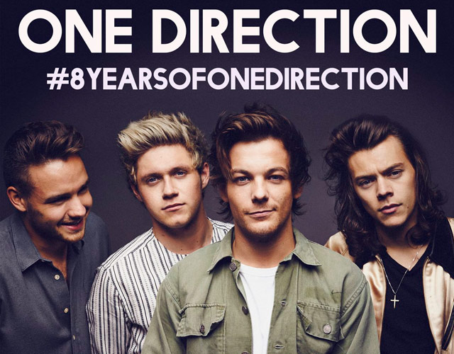 One Direction celebran sus 8 años con una playlist