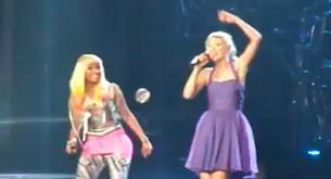 Taylor Swift y Nicki Minaj juntas en el escenario