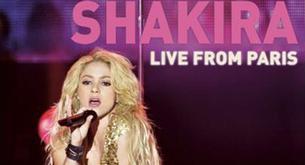 Shakira lanzará un DVD de su concierto en París
